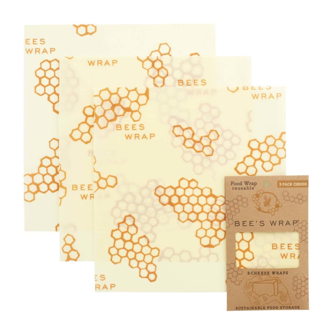 Bees Wrap Cheese 3pack
