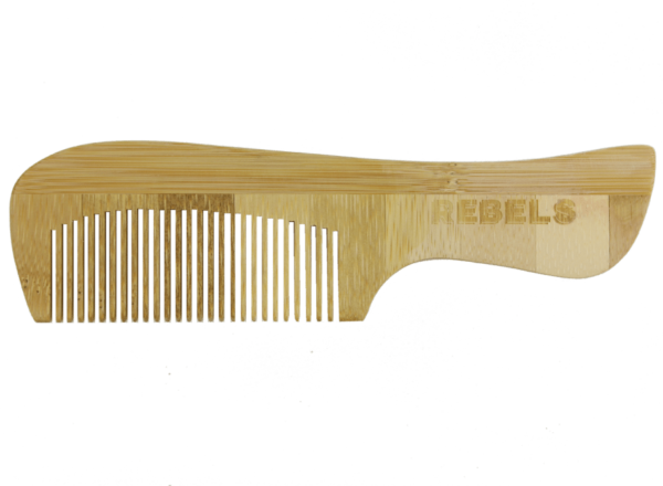 Bamboo Comb with Handle