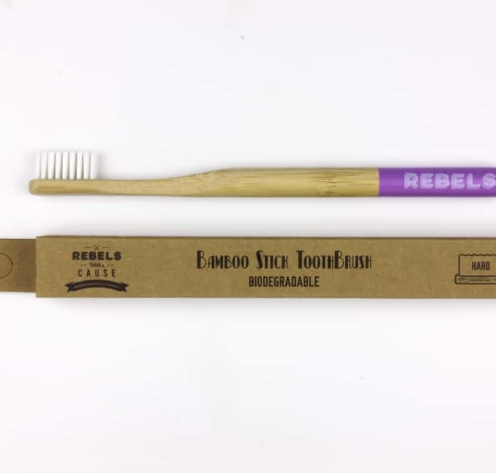 Bamboo Toothbrush Hard